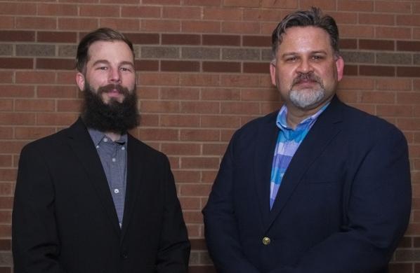 Patrick Osborne and Dr. Jeff Kaleta