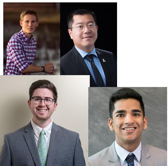 Will O'Malley, Caleb Wright, Manas Desai and Dr. Jason Xiong