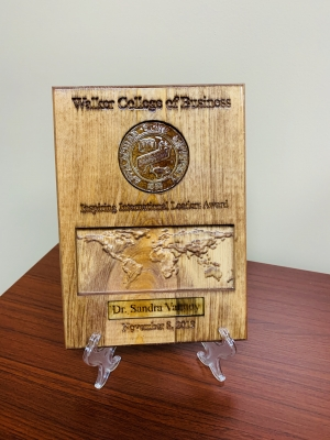 Walker College of Business Outstanding International Engagement Awards